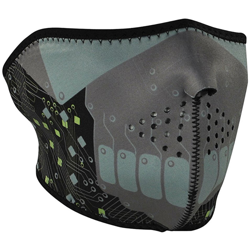Neoprene Robot 1/2 Face Mask