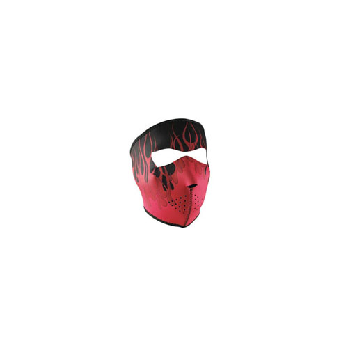 Neoprene Pink Blaze Face Mask