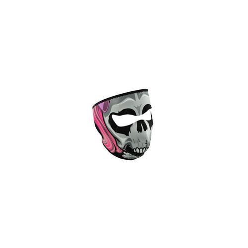 Neoprene Lethal Threat Girl Skull Face Mask