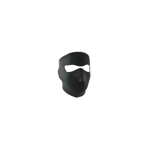 Neoprene Oversized Black Face Mask