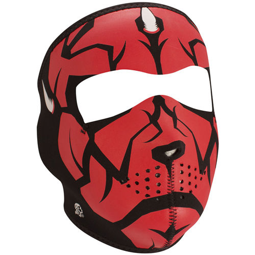 Full Mask Neoprene Glow in the Dark Darklord