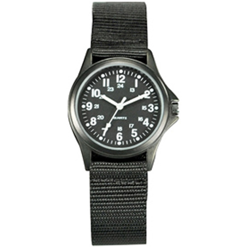 Field Watch All Black Case and Strap