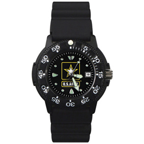 Dive Watch U.S. Army Black Face 41100 Series