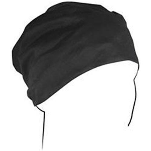 Headwrap Cotton Black