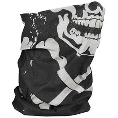 Motley Tube and trade Fleece Lined Skull Xbones
