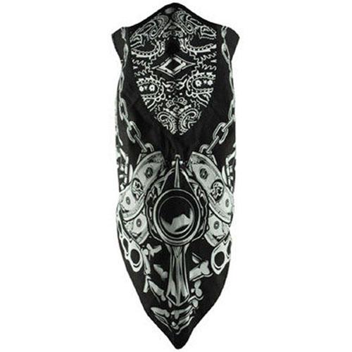 Neodanna and reg Mask Cotton-Neoprene Lethal Threat Gun Ga