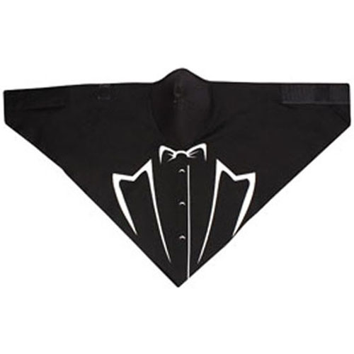 Neodanna and reg Mask Cotton-Neoprene Glow in the Dark Tux