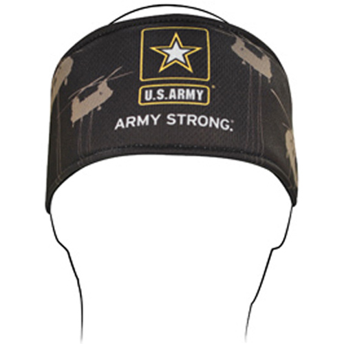 Headband Polyester U.S. Army Helicopter
