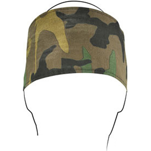 Headband Cotton Woodland Camo