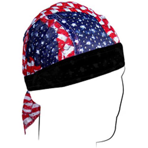 Flydanna and reg Vented Sport Wavy American Flag