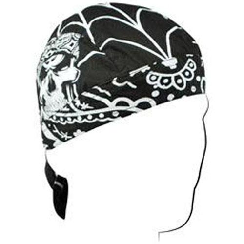 Road Hog Flydanna and reg Cttn Lethal Threat Gangster Skull