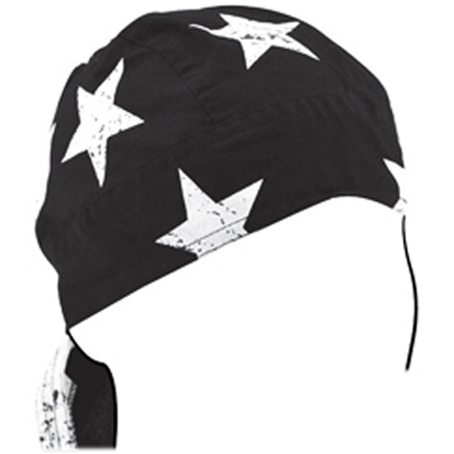 Flydanna and reg Cotton Black-White Vintage American Flag