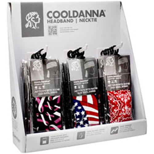 Pre-Pack Display Cooldanna 18pc on Display