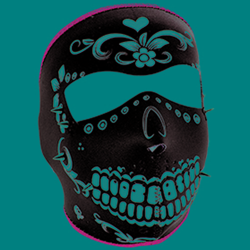Full Mask Neoprene Muerte Spikes