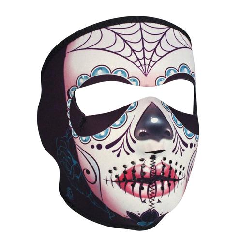 Full Mask Neoprene Fleece Lined Sugar Skull