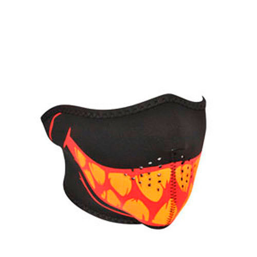 Half Mask Neoprene Glow in the Dark Teeth