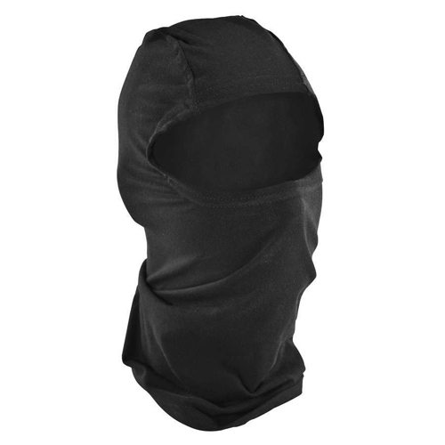Balaclava Bamboo-Cotton Black