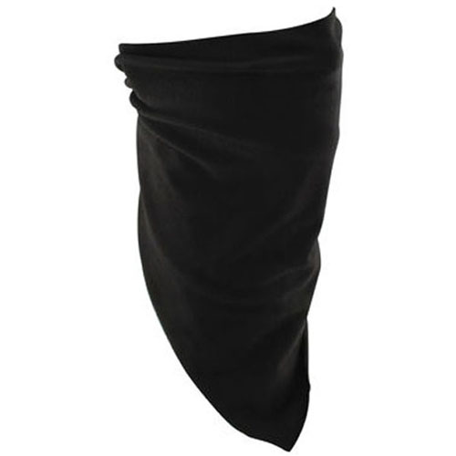 3-IN-1 Bandanna Bamboo-Cotton Black