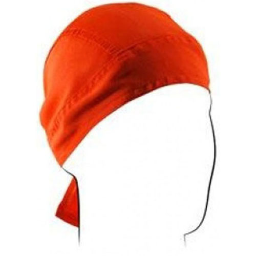 Flydanna and reg Poly-Cotton High-Visibility Orange