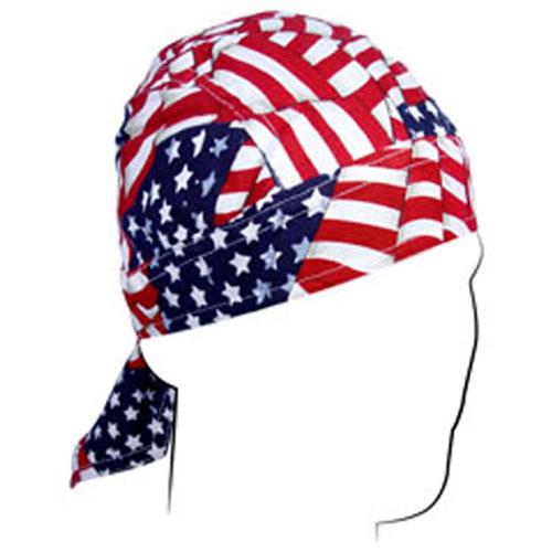 Flydanna and reg Cotton Wavy American Flag