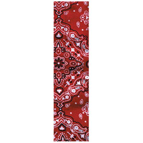 Cooldanna and reg Cotton Red Paisley