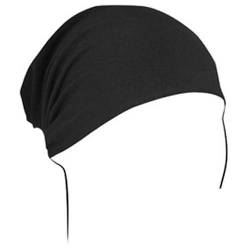 Headwrap Bamboo-Cotton Black