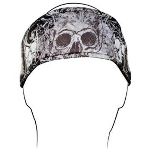 Headband Polyester DaVinci Skull