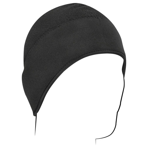 Skull Cap Microfleece and Neoprene Black