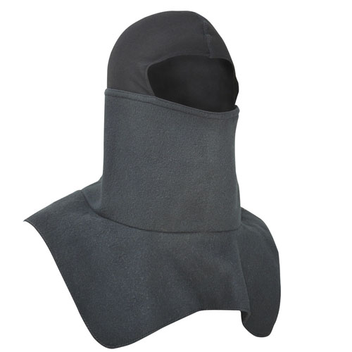 Balaclava Fleece Spandex Crown Black