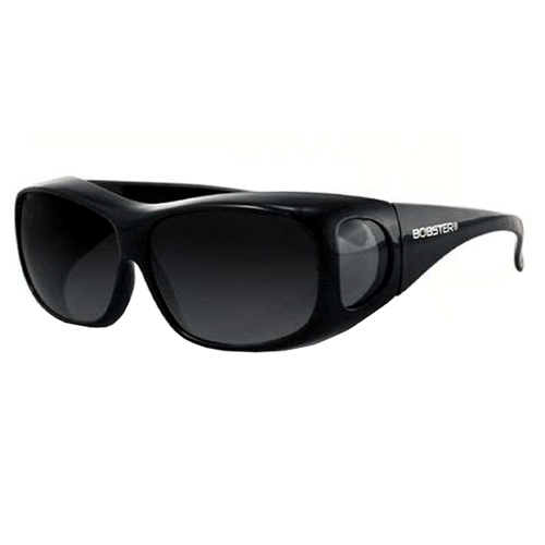 Condor OTG Sunglasses Black Frame Anti-fog Smoked Lens