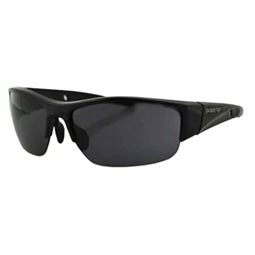 Ryval Sunglass Shiny Black Frame Anti-fog Smoked Lens