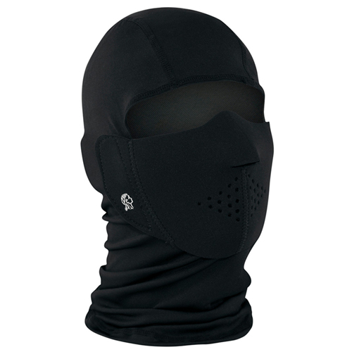 Neoprene BL Modi-Face With Detachable Full Face Mask - Black
