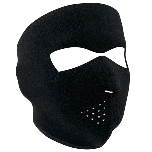 Neoprene Modi-Face With Starter Pack Face Mask - Black