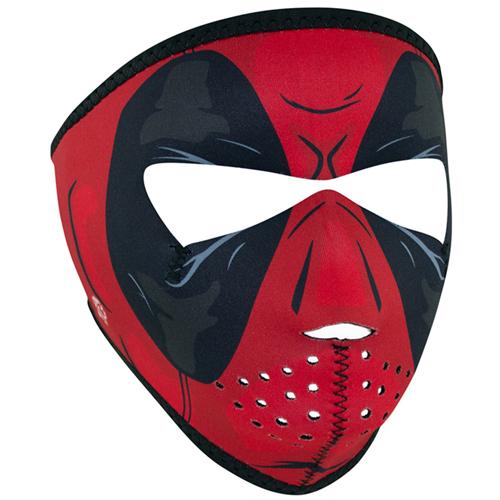 Red Dawn Superhero Full Face Mask