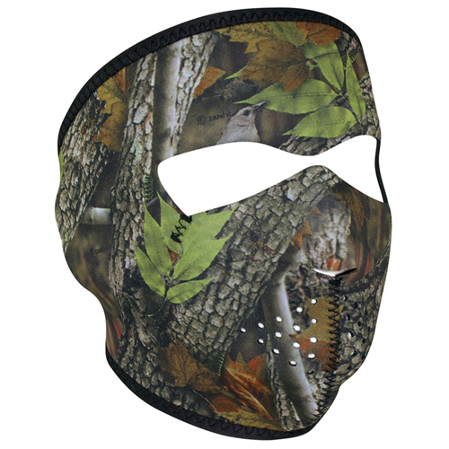 Forest Leaf Full Face Mask