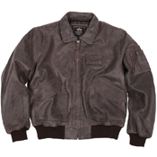Alpha 45-P Leather Jacket