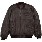 Alpha MA-1 Leather Jacket
