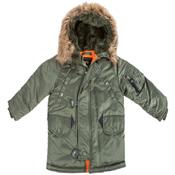 Alpha Youth N-3B Parka Jacket