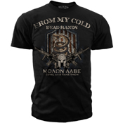 Black Ink Design From My Cold Dead Hands Graphic T-Shirt