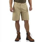 Washed Twill Dungaree Shorts
