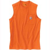 Workwear Pocket Sleeveless T-Shirt