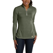 Carhartt Force Performance Quarter-Zip Womens Shirt