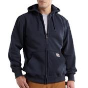 Rain Defender Hooded Zip-Front Sweatshirt