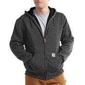 Rutland Thermal Lined Hooded Front Zip Sweatshirt