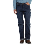 Carhartt Relaxed-Fit Denim Flannel-Lined Boone Jeans