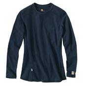 Carhartt Flame-Resistant Cotton Long-Sleeve Womens T-Shirt