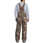 Carhartt Quilt Lined Camo Bib Overalls