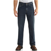 Relaxed-Fit Holter Jeans