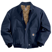 Carhartt Flame-Resistant Duck Bomber Quilt-Lined Jacket