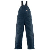 Carhartt Flame-Resistant Duck Bib Overall Quilt-Lined